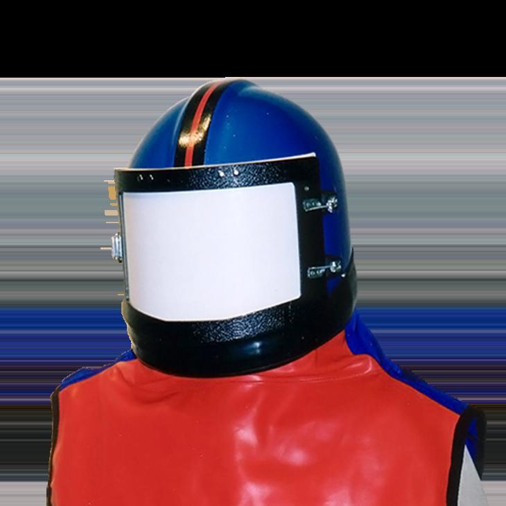 casque de sablage ACF pour vos travaux de sablage et grenaillage