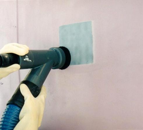 gommage sans poussière kit tous abrasifs ACF