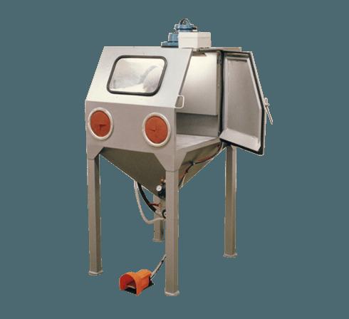 cabine de sablage à manche manuelle D080 d