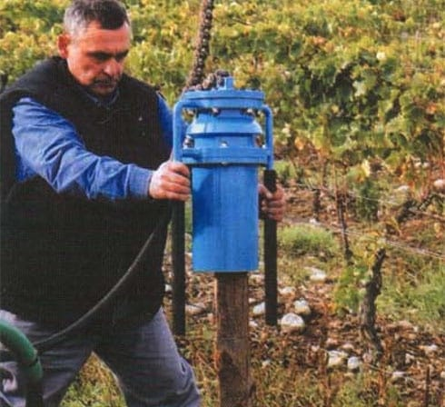 DRIVE IN HAMMER ARIES 42 FOR VINEYARDS BY ACF FRANCE
