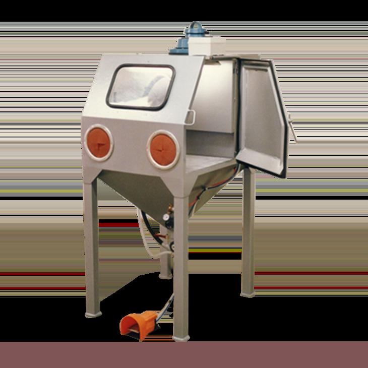 cabine de sablage à manche manuelle D080