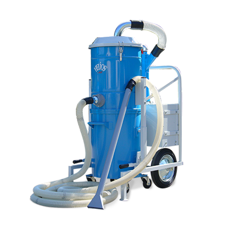 Aspirateur pneumatique Hélios pour récupération d