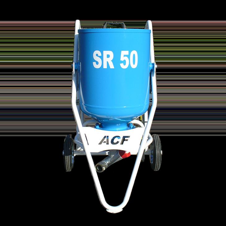 Sableuse gamme SR ACF pour vos travaux de sablage et grenaillage