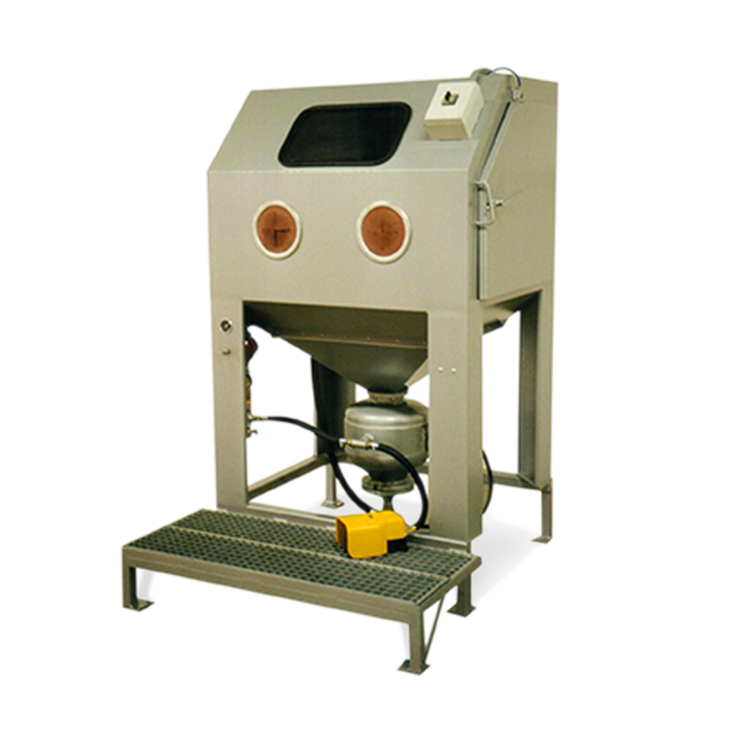 manual pressure sandblasting cabinet S110