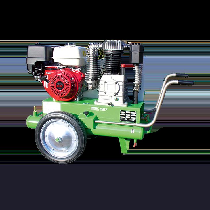 compresseur d 39 air cm7 moteur essence pour jointoyeuse et. Black Bedroom Furniture Sets. Home Design Ideas
