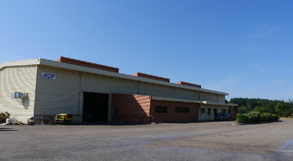usine ACF France matériel de sablage