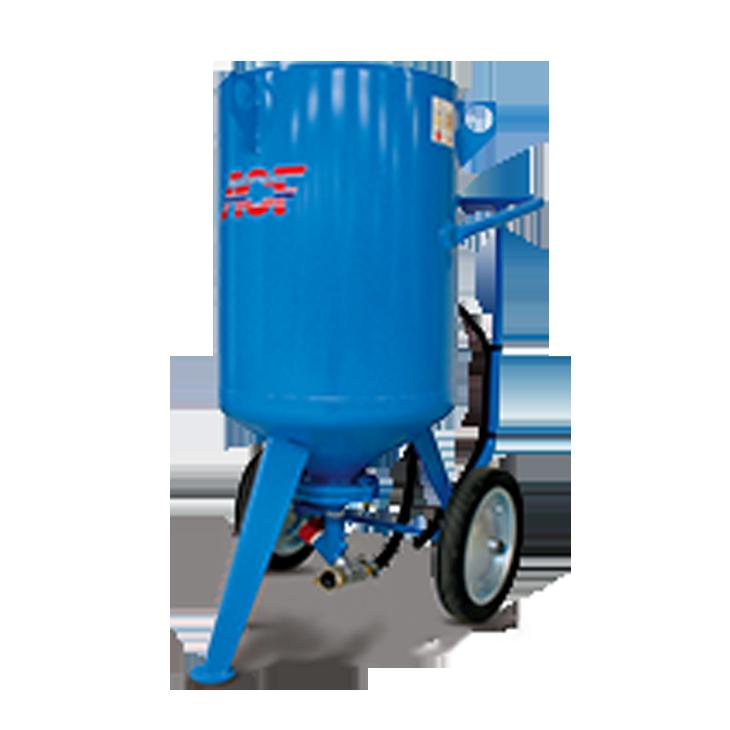 Pressure sandblasting machine