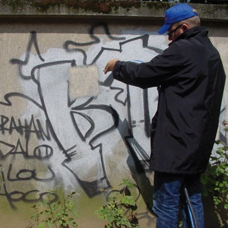 GRAFFITI REMOVAL EQUIPMENT TAG+ BY ACF
