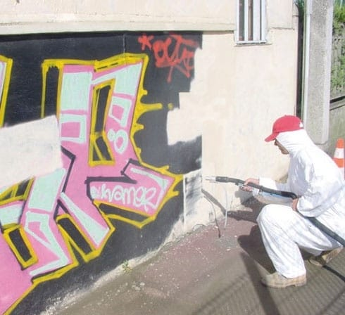 GRAFFITI REMOVAL EQUIPMENT MAXI TAG BY FRENC MANUFACTURER ACF FRANCE