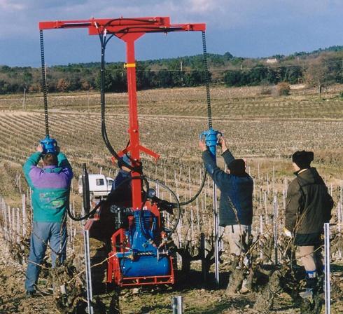 enfonce pieu Ariès viticole