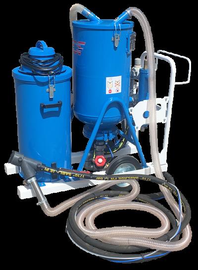 Sableuse sans poussière BPSP ACF pour vos travaux de sablage et grenaillage