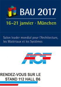 ACF présent au salon BAU de Munich