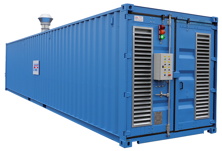 SANDBLASTING CONTAINER ACF FRANCE
