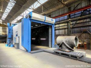 cabine pour grenailler SCITEEX -ACF