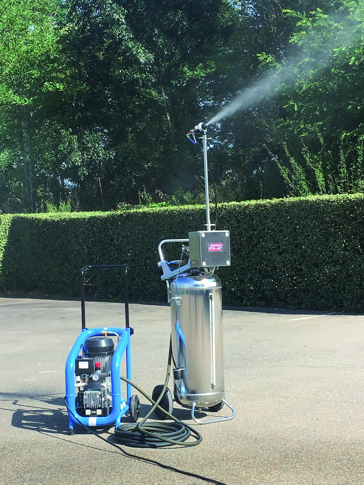 NEMO MAXI kit de brumisation anti-poussière
